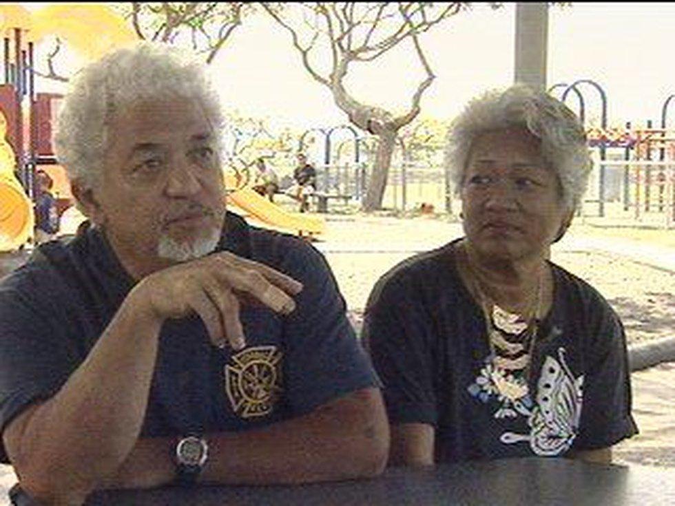 Grandparents James and Yolanda Acol