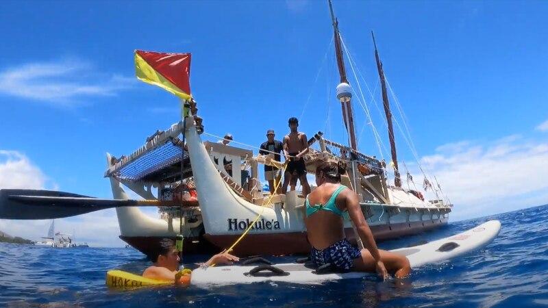 Hokulea training on Maui/FILE