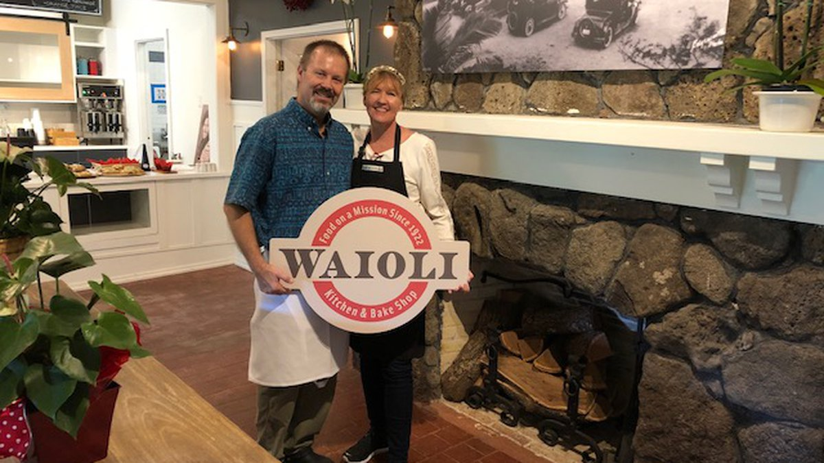 Ross and Stephanie Anderson opened the Waioli Kitchen and Bake Shop to restore the mission of...