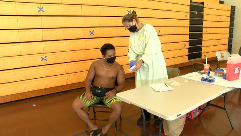 State Representative Stacelynn Eli along with other local leaders organized a vaccine and...