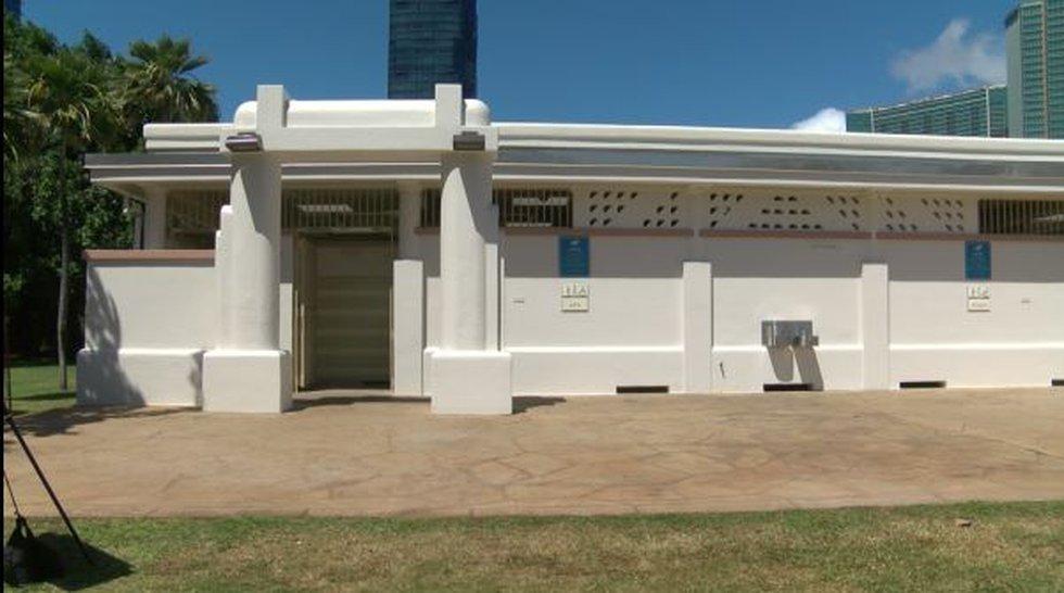 Ala Moana Beach Park Ewa comfort station