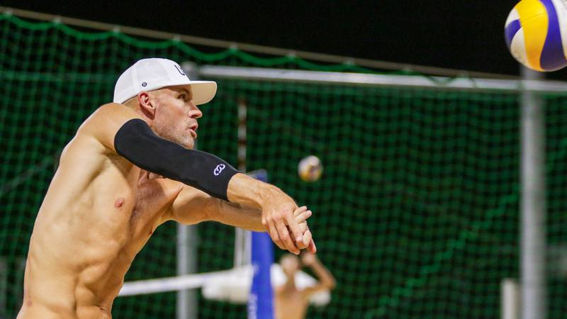 Bourne, Gibb sweep Italy in Olympic beach volleyball pool play