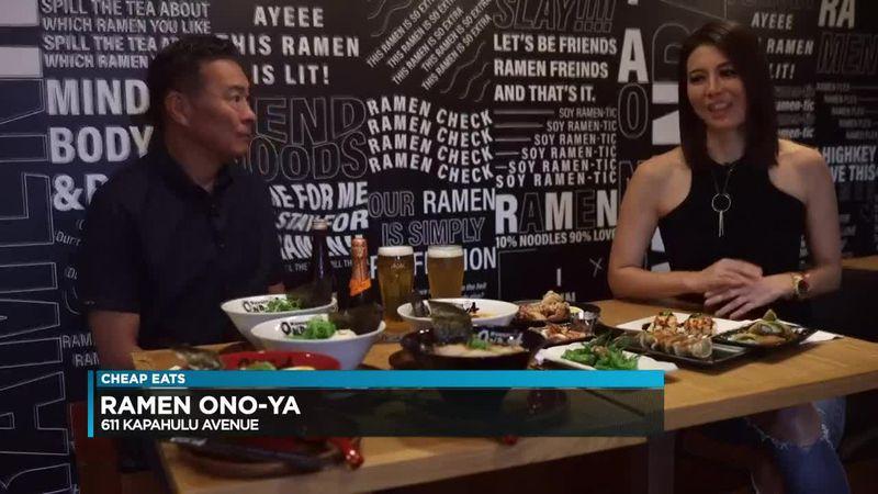 Cheap Eats: Ramen Ono-Ya