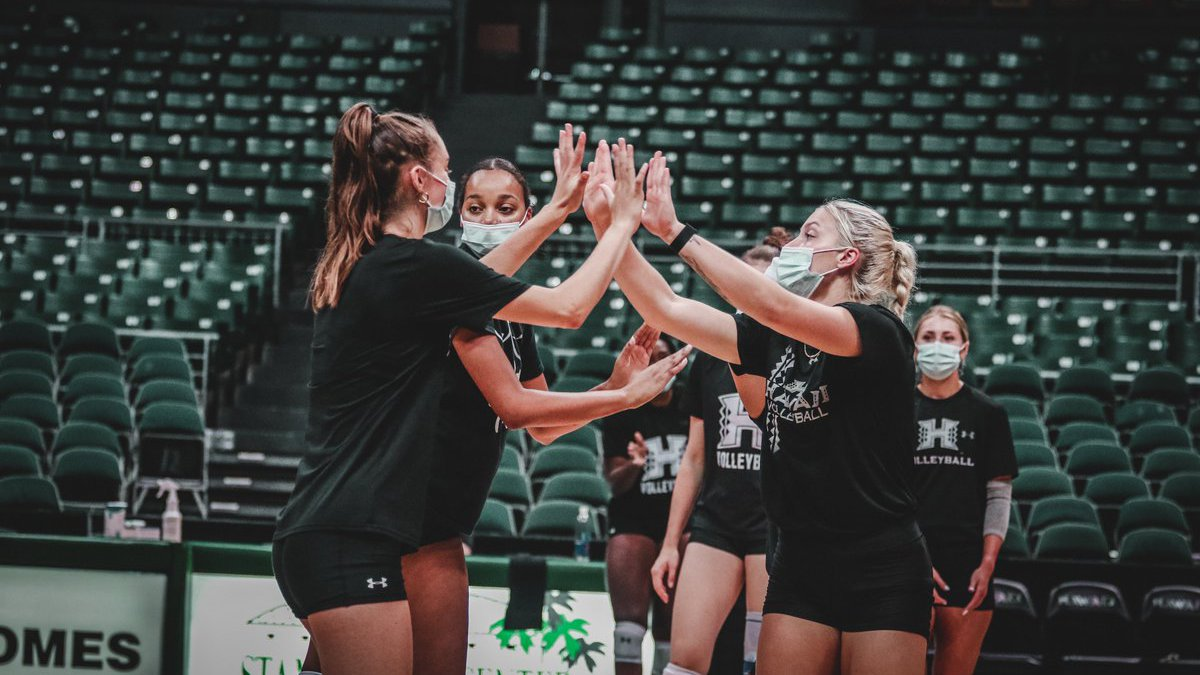 The University of Hawaii Rainbow Wahine volleyball team is back in the islands to host a pair...