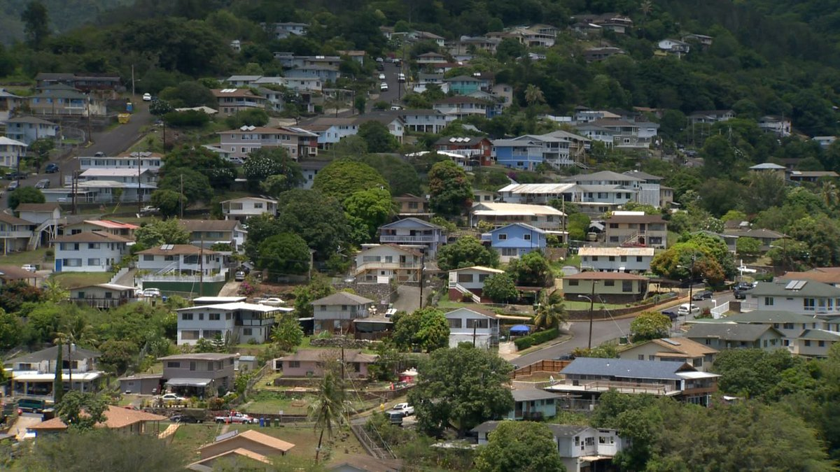File photo of homes in Honolulu.