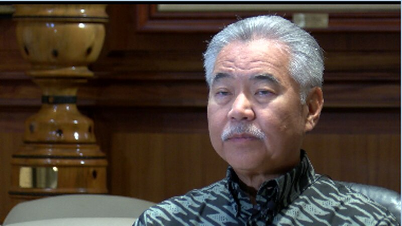 Ige tells HNN he wants to wait for vaccine to have full FDA approval before mandating it for...