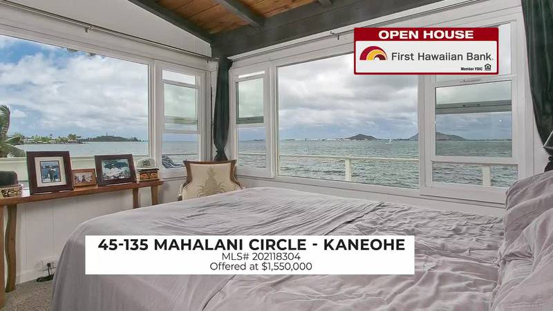 Open House: A 2 BD home with gorgeous views of Diamond Head and a 4 BD spacious waterfront...
