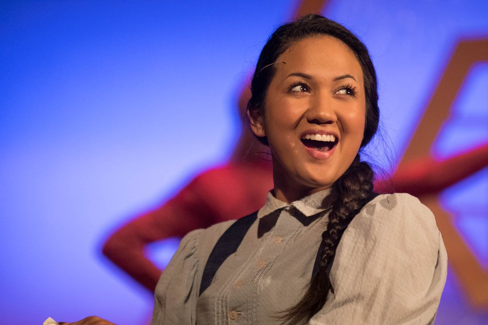 Kekoa, a graduate of Sacred Hearts Academy, makes her debut as Jasmine later this month.