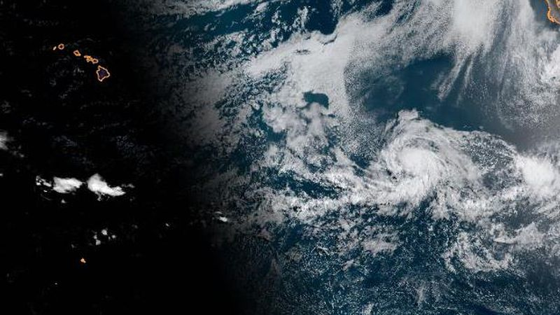 Tropical Storm Carlos on Monday morning