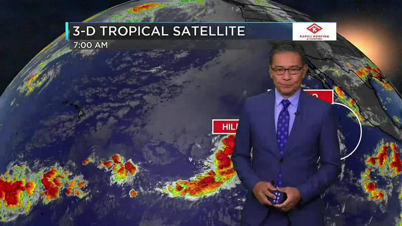 Hawaii News Now Sunrise Weather forecast for Monday, August 2, 2021