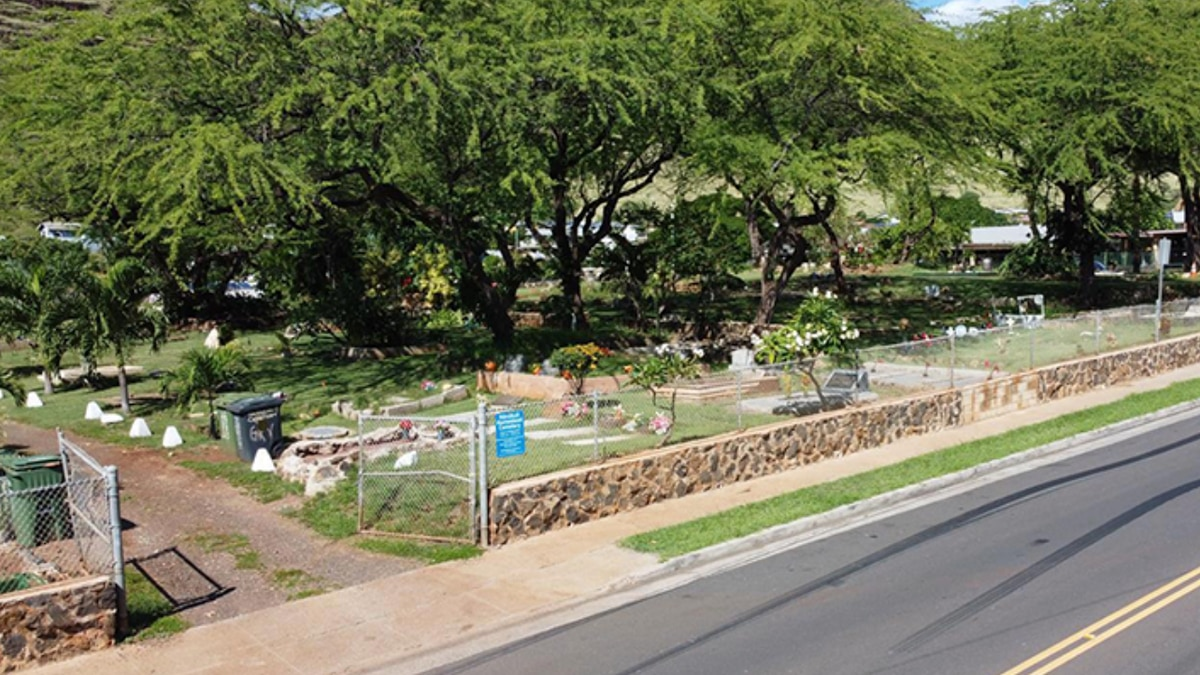 Nanakuli Cemetery to be surveyed by drones.