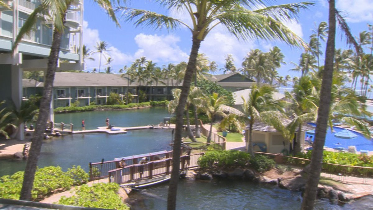 The Kahala Hotel and Resort on Oahu.