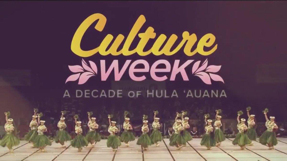 Culture Week - Hula ʻAuana