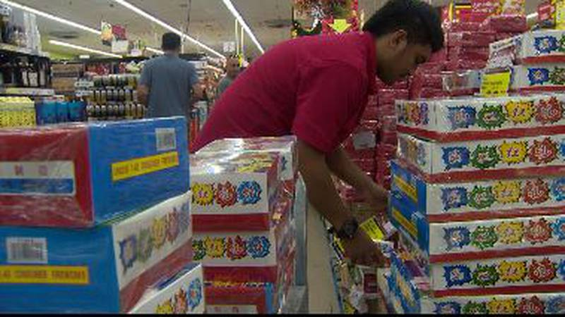 The Honolulu Fire Department says 17,804 firecracker permits were issued this year on Oahu......