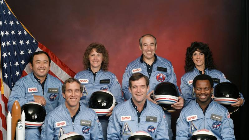 The seven crew members of the space shuttle Challenger died with the shuttle exploded on Jan....