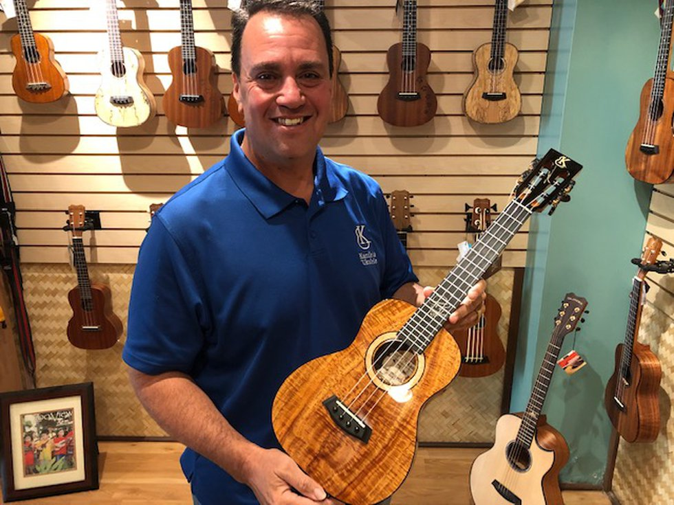 Joe Souza started Kanile'a Ukulele 21 years ago. His instruments are played by musicians all...
