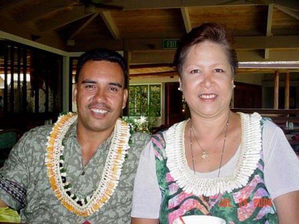 Eric Fontes and his wife Li Ann. Photo courtesy: Kaipo.