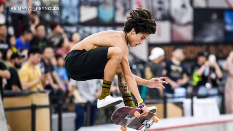 Hawaii native Heimana Reynolds qualified for the 2020 Tokyo Olympic Games an is staying...