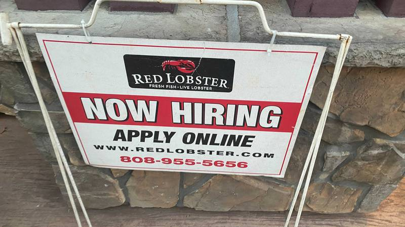 'Help wanted' signs are outside businesses all over in Waikiki