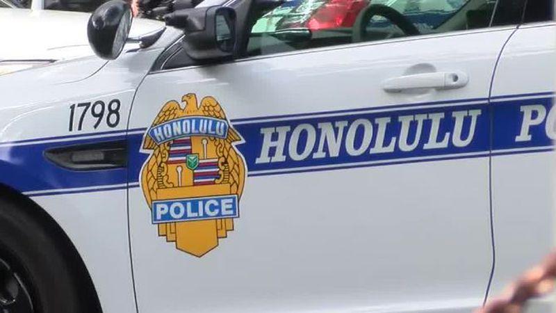File photo of a Honolulu police car.