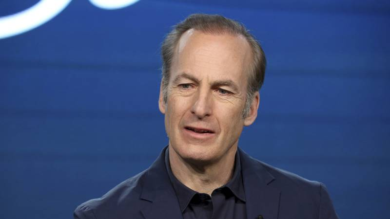 """In this Jan. 16, 2020, file photo, Bob Odenkirk speaks at the AMC's """"Better Call Saul"""" panel..."""