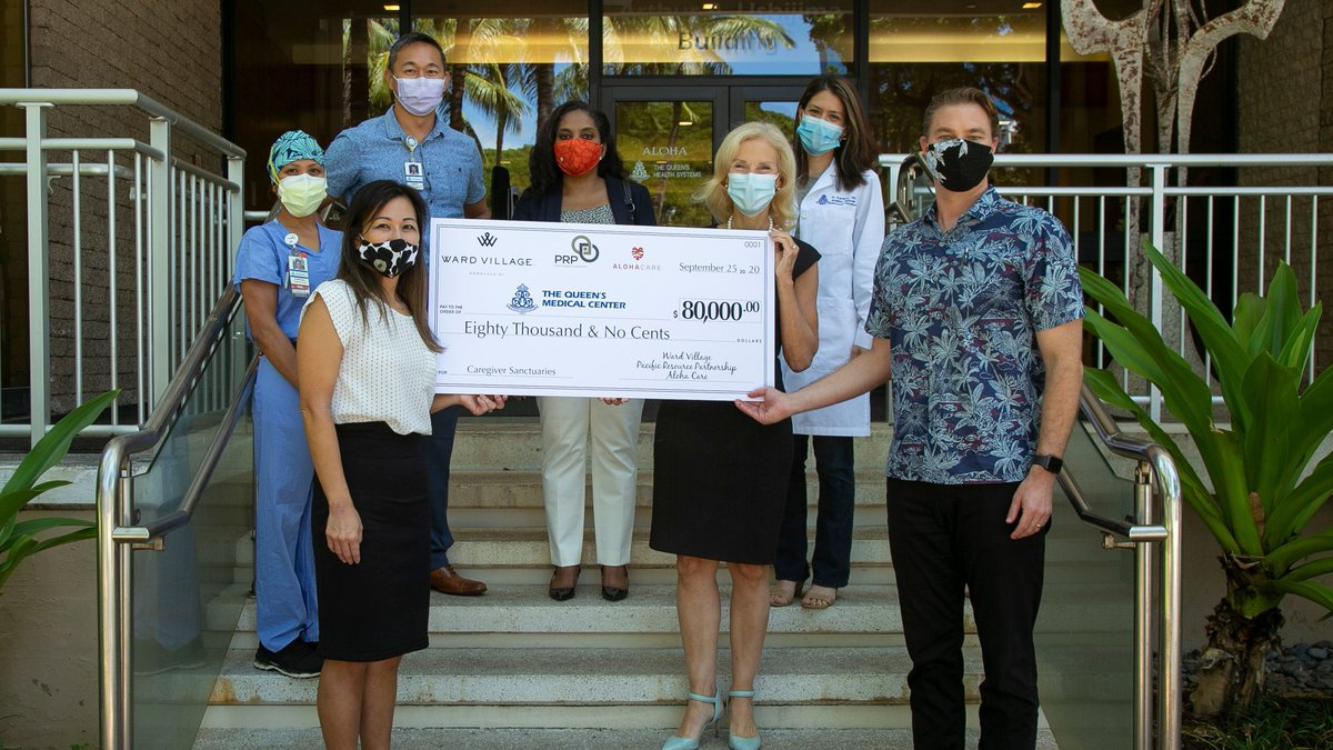 Over $80,000 in donations came in for the special project aimed at giving healthcare workers a...