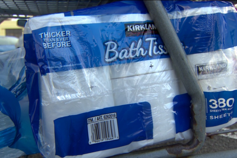Shipping delays have prompted retailers to limit purchases of items like toilet paper and...