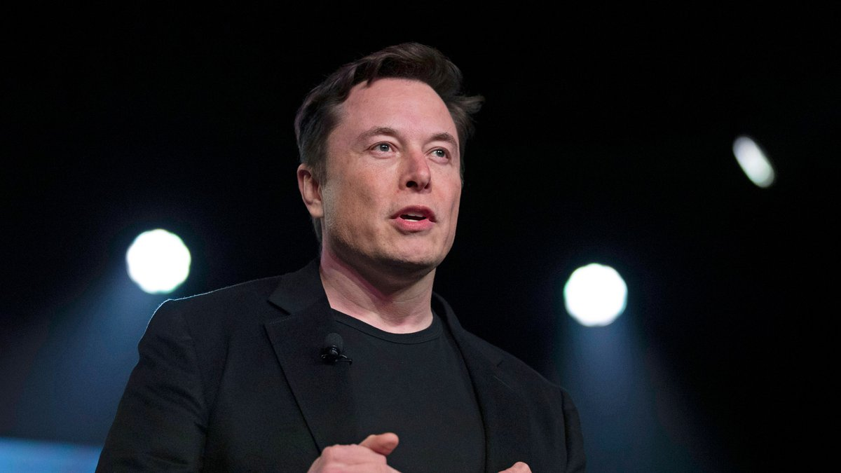In this March 14, 2019, file photo, Tesla CEO Elon Musk speaks before unveiling the Model Y at...