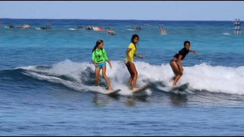 The 17th Annual T&C Surf / Surfer Magazine Grom Contest was held in August at Queen's Surf...