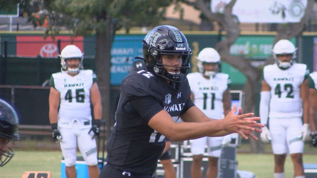 Despite an abrupt pause in practices due to COVID-19 protocols, the University of Hawaii...