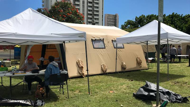 The HONU program (Homeless Outreach and Navigation for Unsheltered Persons) moved from Waipahu...