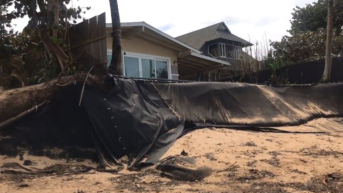 Surf pummeled the North Shore over the weekend, including several spots that have had serious...