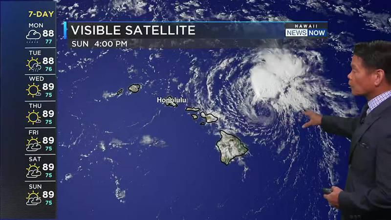 Heavy rain and strong winds will be possible from former Tropical Cyclone Linda.
