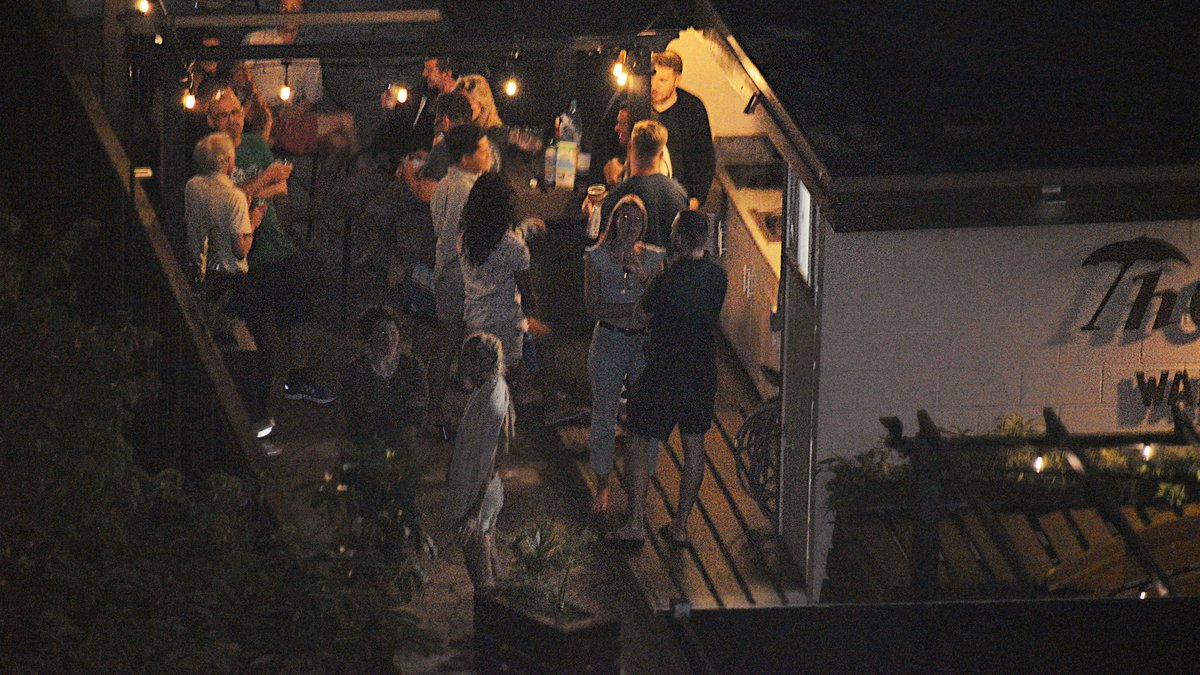 This is the scene at a Waikiki hostel last night. At least sixteen people -- mostly tourists --...