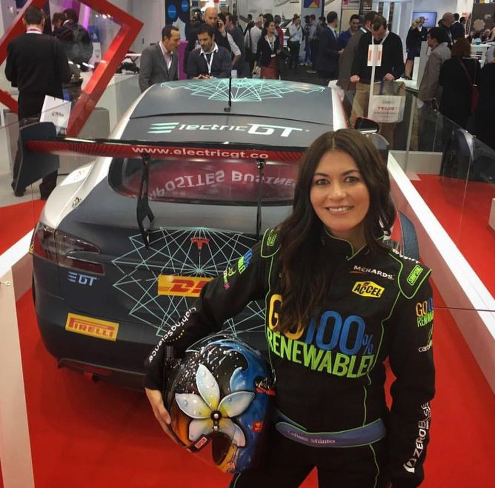 retired race car driver Leilani Munter, who has Hawaii roots, is postponing her March trip amid...