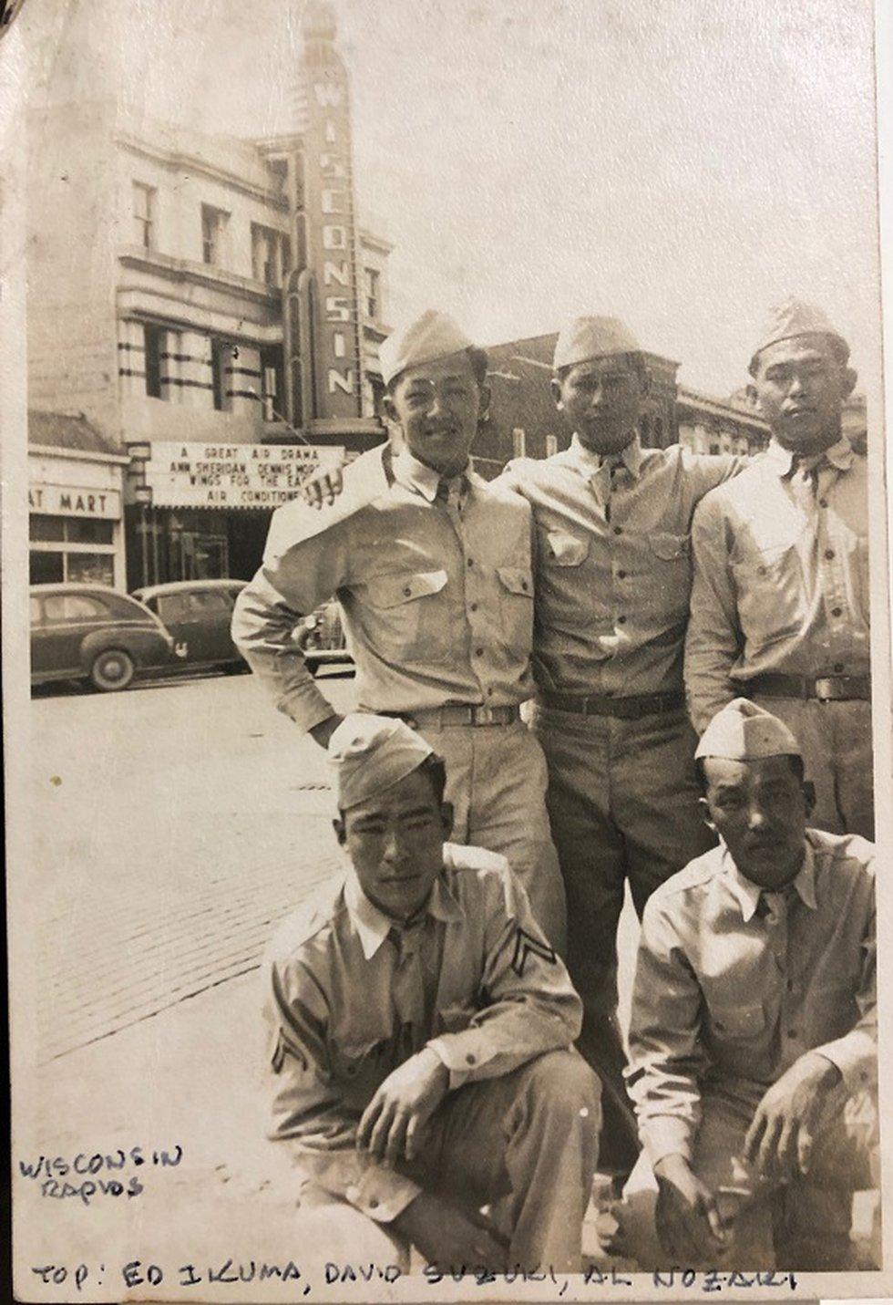 Edward Ikuma in Wisconsin during World War II