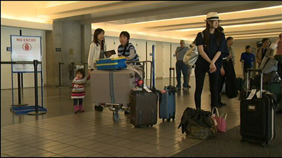More Japanese tourists arrive in Hawaii