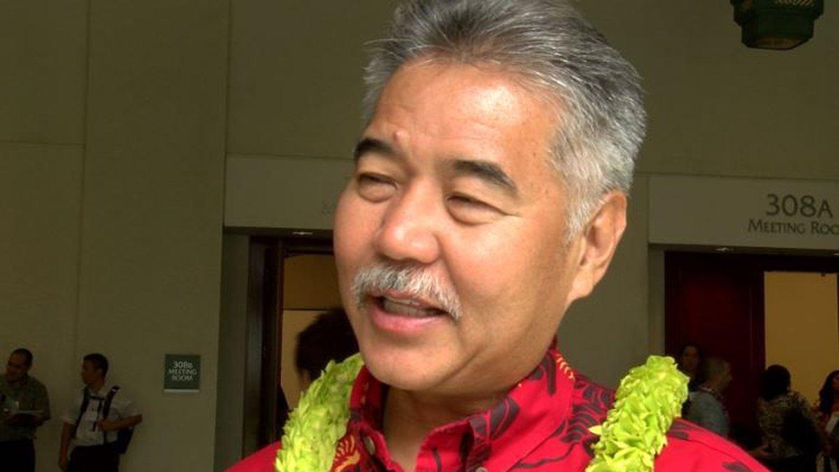 Gov. David Ige (Image: Hawaii News Now)