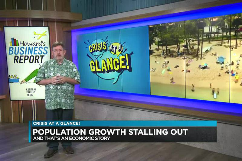Business Report: Population growth stalling out
