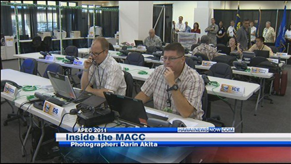 """The Multi-Agency Communications Center, or """"MACC"""""""