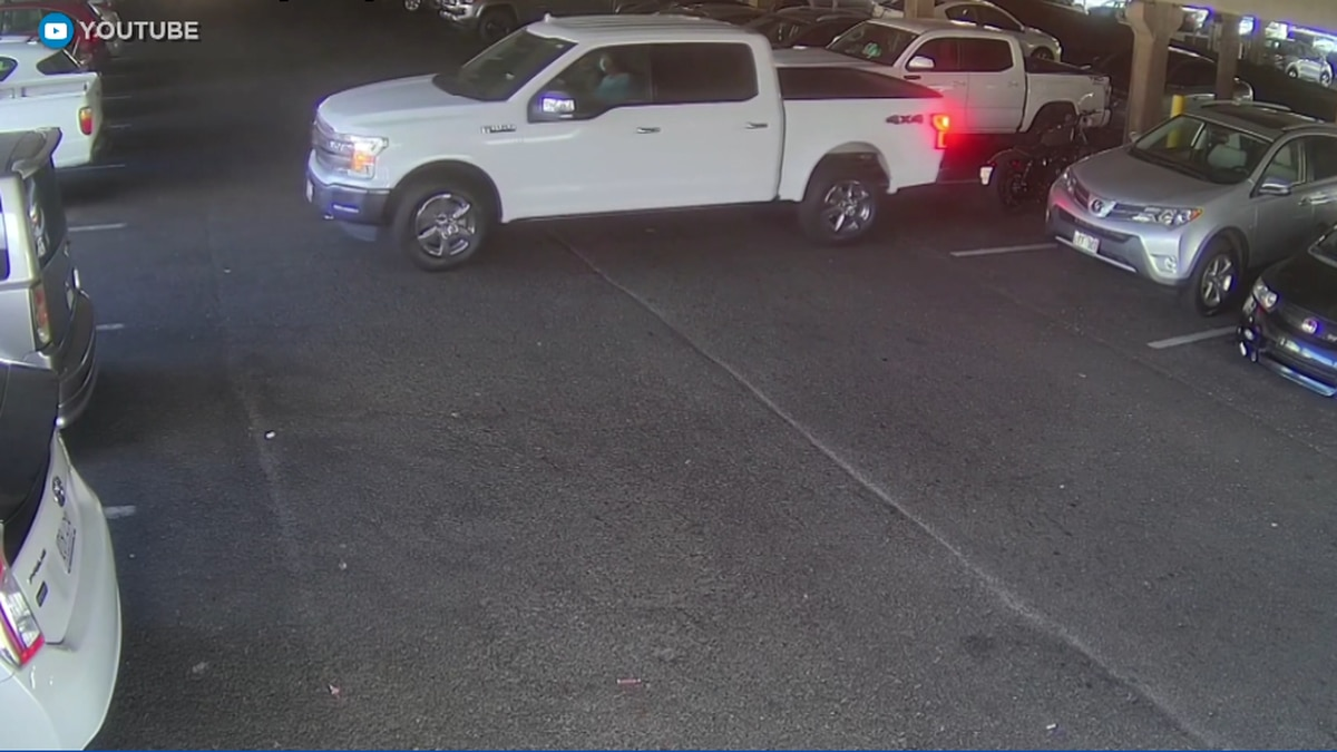 The incident happened on November 7th 2020 in the Queen Kaahumanu Center parking lot.