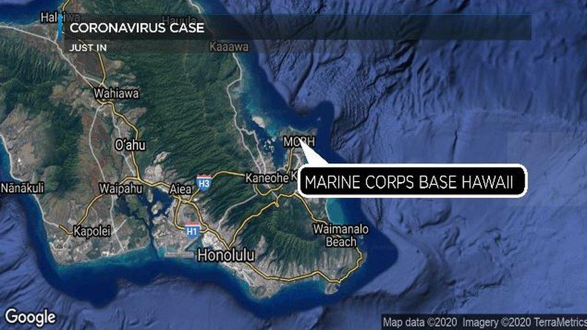 An employee at a Subway at Marine Corps Base Hawaii has tested positive.