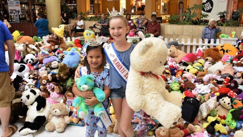 Thousands of teddy bears were donated Saturday. (Image: Mike Casciato)