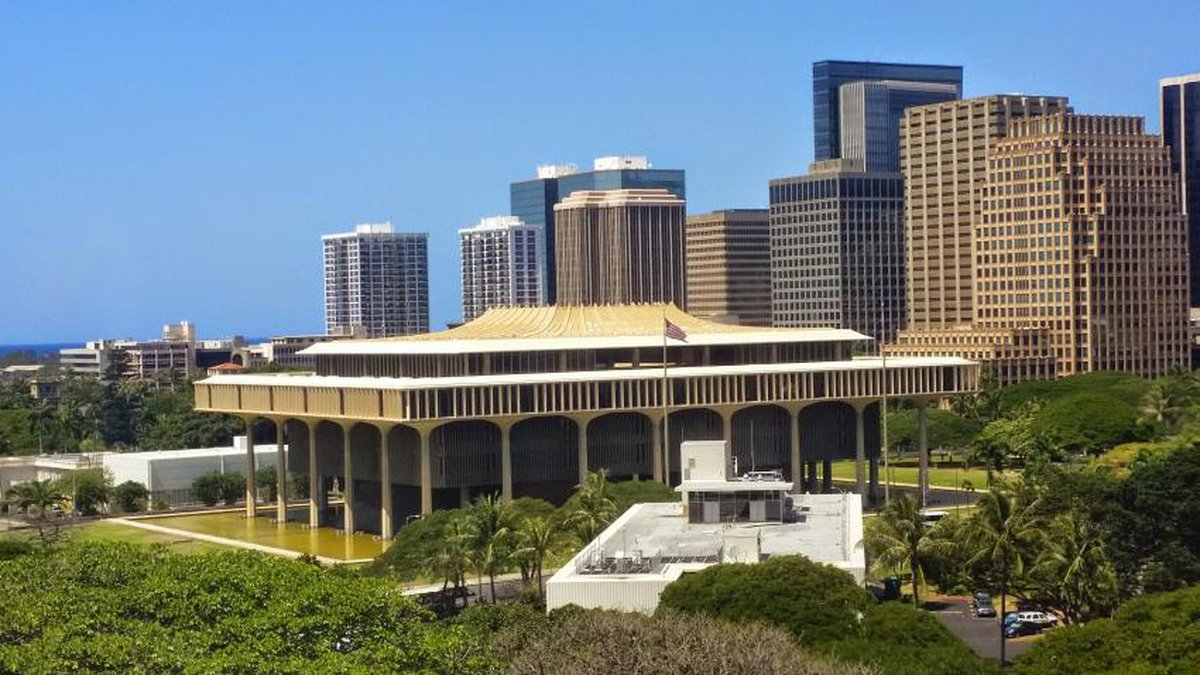 The Hawaii State Capitol