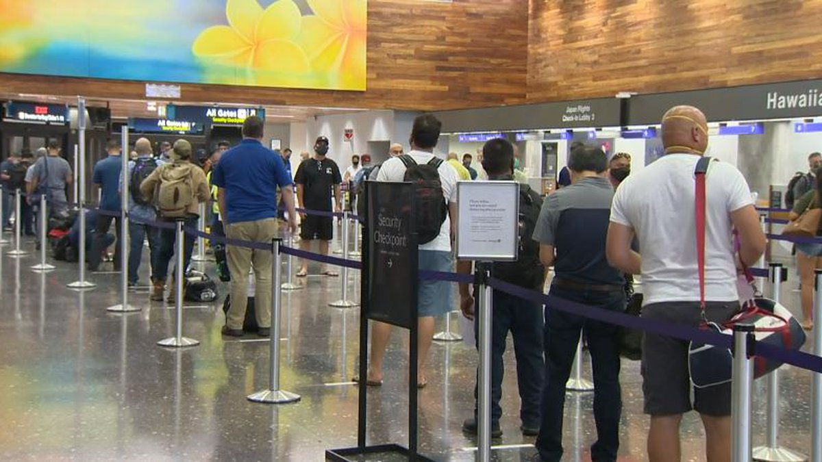 The quarantine for inter-island travel was lifted Tuesday in Hawaii.
