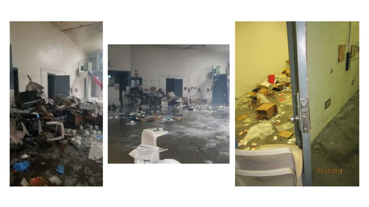The state released new images from inside MCCC a week after the riot.
