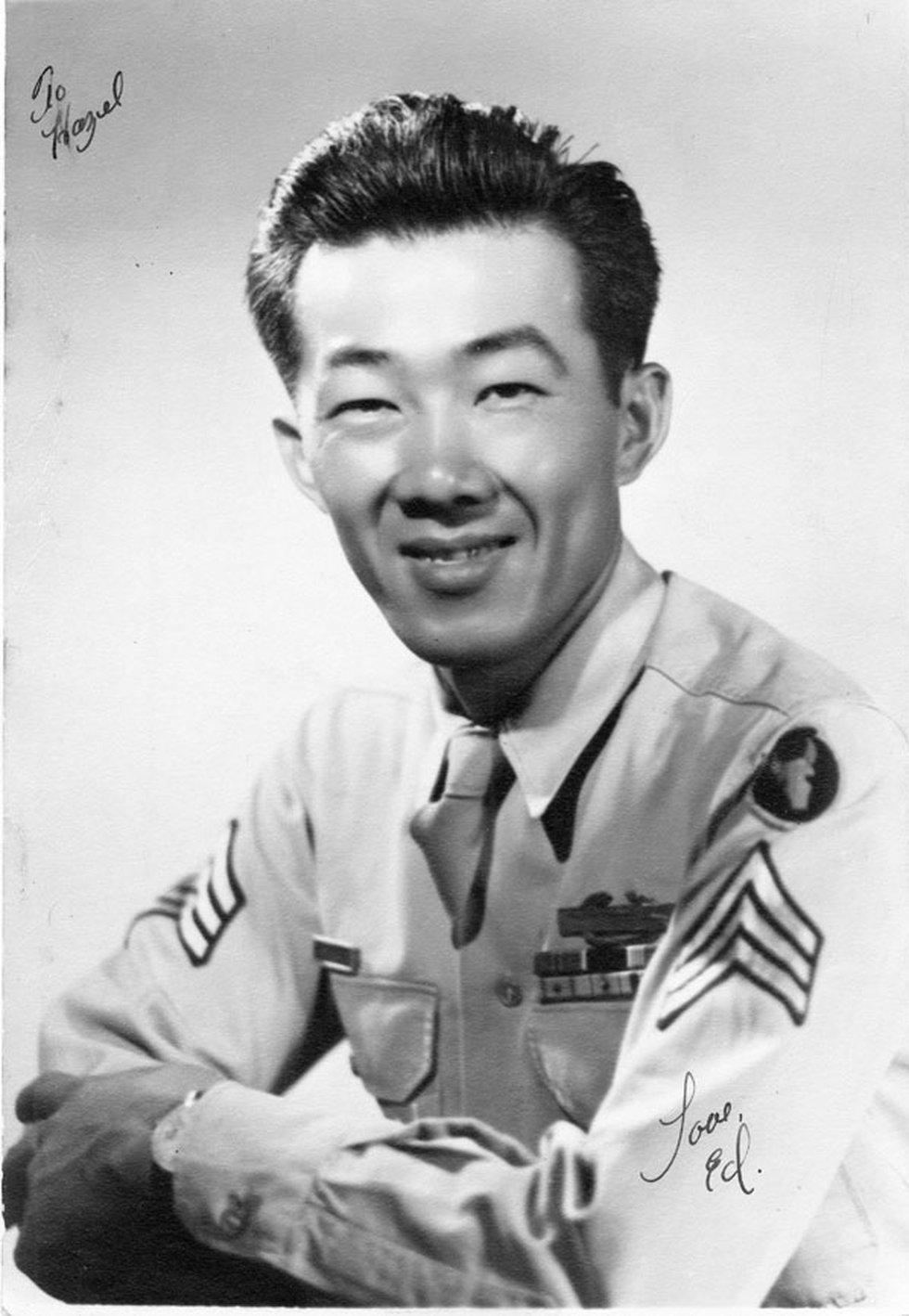 Edward Ikuma during World War II