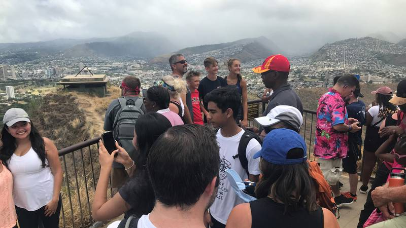 Visitors to Diamond Head State Monument pass pre-pandemic levels.