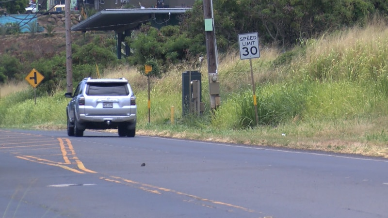 Residents say safety measures are needed on the roadways to force people to slow down.
