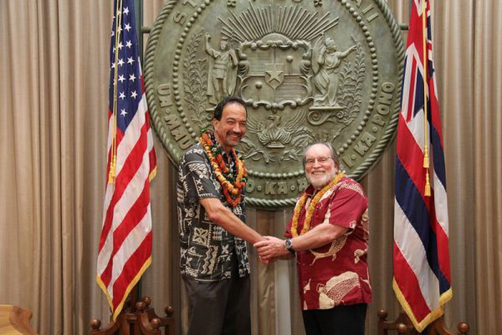 Gov. Neil Abercrombie announced Colin Kippen as the state's next homelessness coordinator
